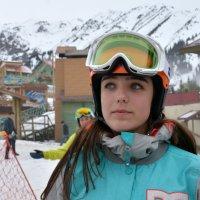 Портрет сноубордистки. :: Anna Gornostayeva