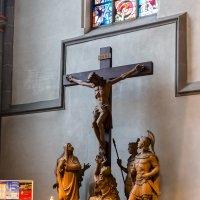 Интерьер церкви Санкт Ламберта, Дюссельдорф, :: Witalij Loewin