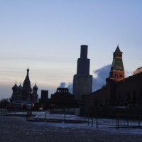 Рассвет над Красной площадью :: Галина Оболдина