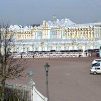 Екатерининский дворец со стороны Треугольной площади :: Сергей