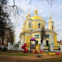 Свято-Троицкий собор города Подольска.(14.04.2016) :: Виталий Виницкий