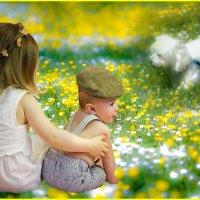 «Мальчики и девочки, золотые лучики ...» :: vitalsi Зайцев