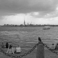 На берегу Невы :: Лидия Гордеева