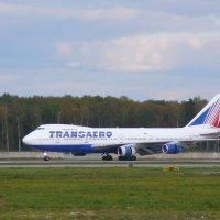 Джамбо Б-747 ,в 2008 ещё редкий вид .. :: Alexey YakovLev