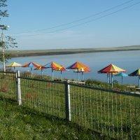 Озеро Шира. Пляж днем. :: Галина