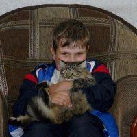 Мальчик с котом :: Вера Щукина