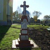 Памятный  крест  в  Долине :: Андрей  Васильевич Коляскин