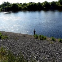 рыбалка на камнях :: Александр Прокудин