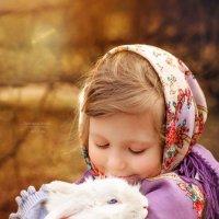"""""""Маленькое счастье с голубыми глазами"""" :: Фотохудожник Наталья Смирнова"""