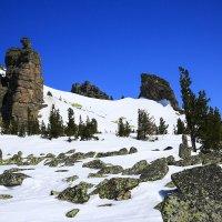 Снег и скалы :: Александр Рейтер