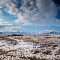 Граница степи и Уральских гор. :: Поток