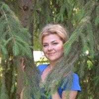 Портрет в еловых ветвях :: Сергей Тагиров