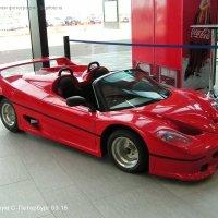 Машинка красная :: Тамара Буйлова