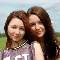 Сестренки :: Светлана Двуреченская