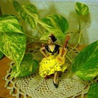 Испанка с гитарой :: Вера Щукина
