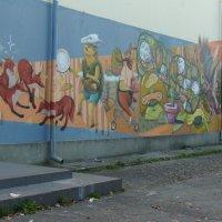 Художественное  граффити  Ивано - Франковска :: Андрей  Васильевич Коляскин