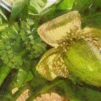.....там с пальмы стройной , высокой и знойной вниз падал созревший банан... :: Tatiana Markova
