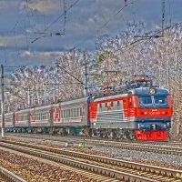 Электровоз ЧС2К-660 :: Денис Змеев