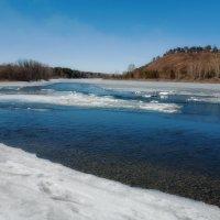 Ледоход на реке :: Анатолий Иргл