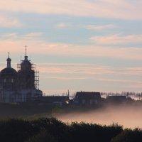 Туманное утро :: Алеся Юрьевна