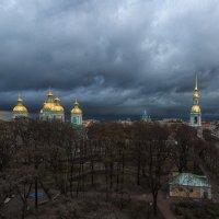 Полёты над Питером в непогоду :: Владимир Колесников