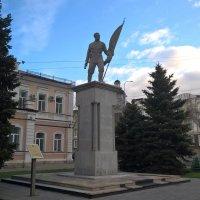 Памятник жертвам набега белоказаков на Оренбург 04.04.1918г. :: Лена