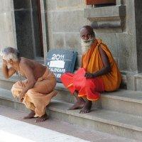 Индия. Паломники в Каньякумари. :: Светлана Ященко