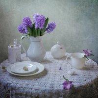 Тема фиолетово-лилового продолжается.... :: Юлия Холодкова