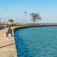 Рыбалка на озере Мичиган :: Лёша