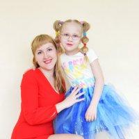 Мама и дочка :: Вероника Подрезова