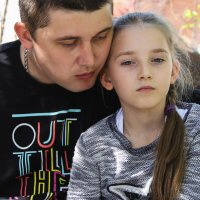 Папа с дочей :: Anastasia Stella