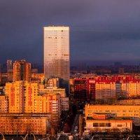 Город в закате :: Smirnov Aleksey Смирнов