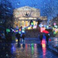 Вечерний дождь. :: Larisa