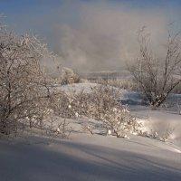 Морозным зимним днём... :: Александр Попов