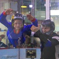 Тренировка в аэротрубе перед большими стартами... :: Tatiana Markova
