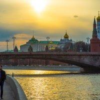 Московский весенний закат :: Игорь Герман