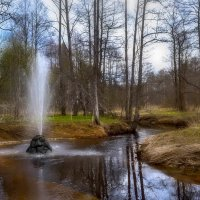 За рекой луга зазеленели,веет легкой свежестью воды,веселей по лесу зазвенели  песни птиц на разные :: Алла Кочергина