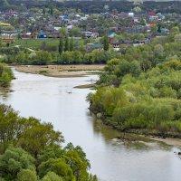 Старая Станица и река Кубань :: Игорь Сикорский