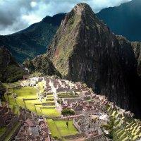 Затерянный город инков. Луч солнца :: Виктор Кац