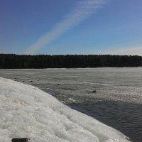Весенний блеск льда :: Владимир Звягин