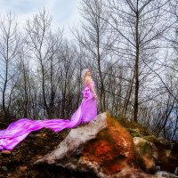 На скале :: Юрий Андреев