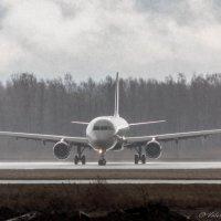 Поворот Аэрофлота..почти сюр :: Валерий Смирнов
