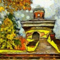 Осенью у старой башни... :: Tatiana Markova