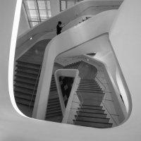 Здание музея по проекту архитектора Зари Хадид в Сеуле (по принципу спирали Фибоначчи 7-2) :: Sofia Rakitskaia