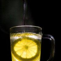 Вечерний чай с лимоном :: Елена Нор