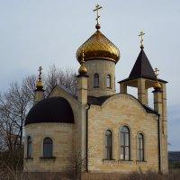 Придорожная церквушка. Ессентуки. :: Алексей Golovchenko