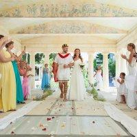 Свадьба в греческом стиле :: Damianos Maximov