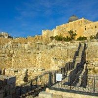 Иерусалим. Вид на Старый Город, мечеть Аль-Акса и раскопки. :: Игорь Герман