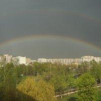 Вот такая радужная смена погоды. :: Александр