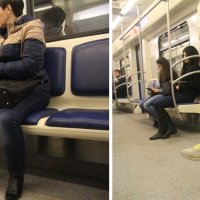 Беседа в метро :: Margarita Pavlova